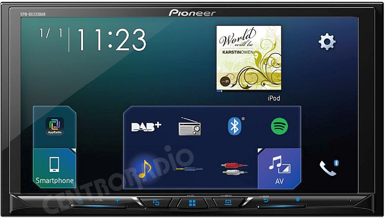 pioneer sph da230dab centroradio car audio video venezia. Black Bedroom Furniture Sets. Home Design Ideas