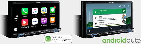 alpine ine w710d centroradio car audio video venezia. Black Bedroom Furniture Sets. Home Design Ideas