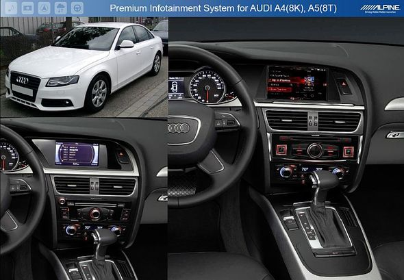Alpine X701D-AU: Car By Car per Audi A4-A5-Q5